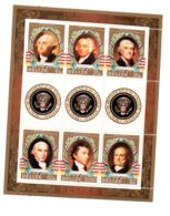 Feuillet -Belize - The Presidents Of USA-voir état - Belize (1973-...)