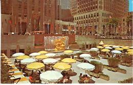 POSTAL    NEW YORK  -EE.UU.   -PLAZA OF  ROCKEFELLER CENTER - New York City