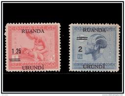 Ruanda 0090/91*Vloors  H - - 1924-44: Nuovi