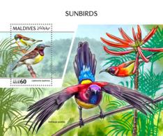 Maldives 2018 Sunbirds Fauna   S201810 - Maldives (1965-...)