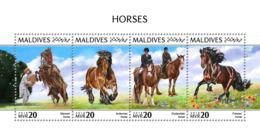 Maldives 2018 Horses  Fauna   S201810 - Maldives (1965-...)
