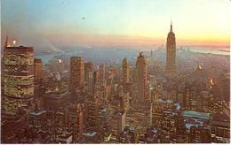 POSTAL    NEW YORK  -EE.UU.   - PANORAMA OF THE NEW YORK CITY SKYLINE - New York City