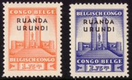 Ruanda 0122/23* Monument - Ruanda-Urundi