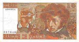 "FRANCE 10 FRANCS TYPE "" 1972 - Berlioz - 10 F 1972-1978 ''Berlioz''"