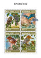 Maldives 2018  Kingfishers Birds   Fauna   S201810 - Maldives (1965-...)