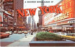 POSTAL    NEW YORK  -EE.UU.   - A SOUVENIR BONUS ALBUM OF - New York City