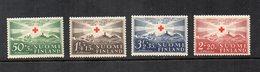 Finlandia - 1939 - 75° Anniversario Della Croce Rossa - 4 Valori - Nuovi - (FDC12978) - Nuovi
