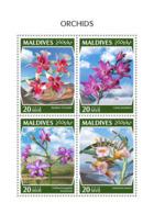 Maldives 2018  Orchids   S201810 - Maldives (1965-...)