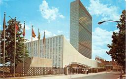 POSTAL    NEW YORK  -EE.UU.   - THE UNITED NATIONS WORLD CAPITAL - New York City