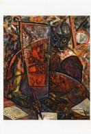CPM - N - PEINTURE DE CARLO CARRA - PORTRAIT DU POETE MARINETTI - 1910 - COLLECTION PARTICULIERE - Paintings