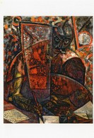 CPM - N - PEINTURE DE CARLO CARRA - PORTRAIT DU POETE MARINETTI - 1910 - COLLECTION PARTICULIERE - Pintura & Cuadros
