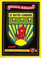 LE RAYOL-CANADEL Rare Blason Adhésif (Kroma N° 552) Var (83) - Rayol-Canadel-sur-Mer