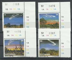 BOTSWANA,  YVERT  528/31    MNH  ** - Botswana (1966-...)
