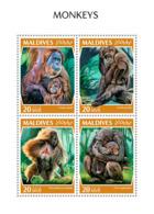 Maldives 2018  Monkeys Fauna  S201810 - Maldives (1965-...)