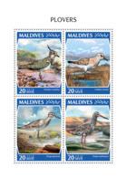 Maldives 2018  Plovers  Birds  Fauna  S201810 - Maldives (1965-...)