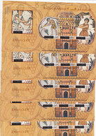 Jordna 2004, MOSAIC Complete Sheets MNH Unfolded X 5 - Reduced Orice- SKRILL PAYMENT ONLY7. - Jordan