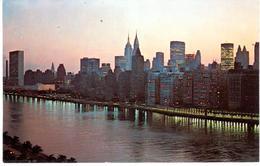 POSTAL    NEW YORK  -EE.UU.   - VIEW FROM THE QUEENSBORO BRIDGE (VISTA DEL PUENTE DE QUEENSBORO) - New York City