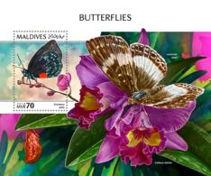 Maldives 2018  Butterflies  S201810 - Maldives (1965-...)