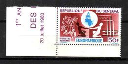221a * SENEGAL * ECKRAND EUROPAFRIQUE * POSTFRISCH **!! - Senegal (1960-...)