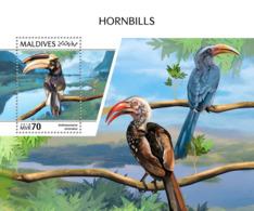 Maldives 2018  Hornbills Fauna  S201810 - Maldives (1965-...)
