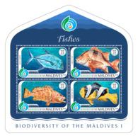 Maldives 2018  Biodiversity Of Maldives Fauna Fishes   S201810 - Maldives (1965-...)