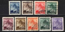 BOEMIA E MORAVIA - 1939 - FOGLIE DI TIGLIO E GEMME CHIUSE - USATI - Boemia E Moravia
