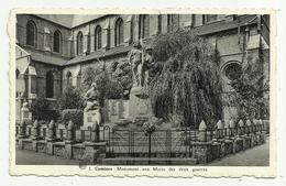 Comines   * Monument Aux Morts Des Deux Guerres (Croix Rouge Comines) - Comines-Warneton - Komen-Waasten
