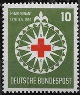 1953 Alllem. Fed  Deutschland  Yv. 50   Mi. 164 **MNH 125. Geburtstag Von Henri Dunant - Ongebruikt