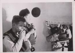 TAUCHRETTER UBUNG   FOTO DE PRESSE WW2 WWII WORLD WAR 2 WELTKRIEG Kriegsmarine - Barcos