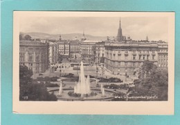 Old Post Card Of Schwarzenbergplatz,Wien,Vienna, Vienna, Austria,R73. - Vienna