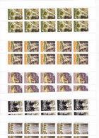 Jordan 20-09, Water Falls Complete Set 5 Stamps,x 10 Corners- MNH-Reduced Price - SKRILL PAYMENT ONLY - Jordan