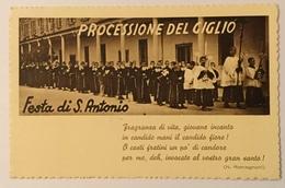 SAIANO - PROCESSIONE DEL GIGLIO  - FESTA DI S.ANTONIO VIAGGIATA FP - Brescia