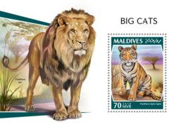 Maldives 2018  Big Cats Fauna  S201810 - Maldives (1965-...)