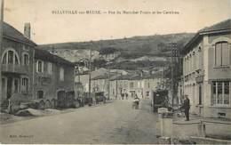 BELLEVILLE SUR MEUSE - Rue Du Maréchal Pétain Et Les Carrières - En état - Sonstige Gemeinden