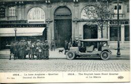 N°66624 -cpa La Base Angalise -quartier Général Du Havre- - Guerre 1914-18
