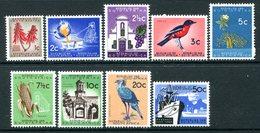 South Africa 1961-63 Definitives - No Wmk. Set VLHM (SG 211-219) - South Africa (1961-...)