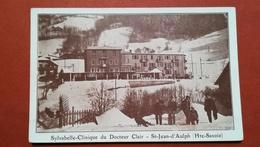 74 -  St. JEAN D'AULPH  - STYLVABELLE CLINIQUE DU DOCTEUR CLAIR - France