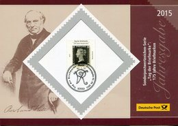 """Bundesrepublik Deutschland / 2015 / Folder Der Deutschen Post """"Tag Der Briefmarke"""" (30162-20) - BRD"""