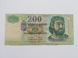 UNGHERIA 200 FIORINI 2002 - Ungheria