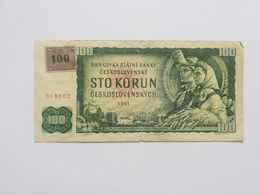CECOSLOVACCHIA 100 STO KORUN 1961 - Czechoslovakia
