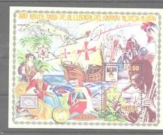Hoja Bloque De Cuba Nº Yvert HB-183 **  BARCOS (SHIPS) - Blocks & Sheetlets