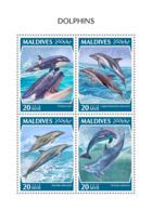 Maldives  2018  Dolphins Fauna  S201810 - Maldives (1965-...)