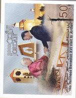 Jordan-2009- VISIT OF POPE BENEDICTUS To Jordan Complete Packet Of 100 Sheets MNH-superb-Red.Price- SKRILL PAY - Jordan