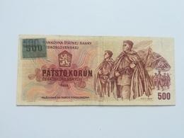 CECOSLOVACCHIA 500 STO KORUN 1973 - Cecoslovacchia