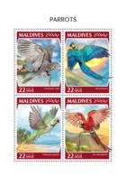 Maldives  2018  Parrots  Fauna  S201810 - Maldives (1965-...)