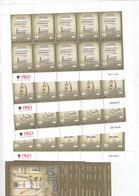 Jordan 2007, Culture & Idendity Compl.sheet 10 Sets Unfolded 4v. + 10 Souv. Sheets MNH- RED. PRICE - SKRILL ONLY - Jordan