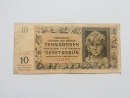 BOEMIA E MORAVIA 10  KORUN 1942 - Cecoslovacchia