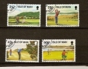 Ile De Man 1997 Yvertn° 768-771 (°) Used Cote 7 Euro Sport Golf - Man (Ile De)