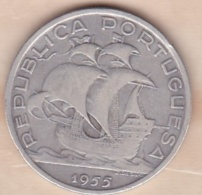 PORTUGAL. 10 ESCUDOS 1955, En Argent - Portugal