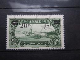 "VEND BEAU TIMBRE DE SYRIE N° 186 , "" 0 "" BRISE , (X) !!! - Syria (1919-1945)"